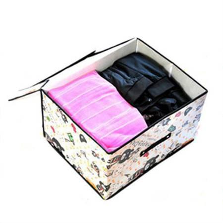开馨宝 大号收纳箱/储物箱/折叠式学生收纳箱(K8202)