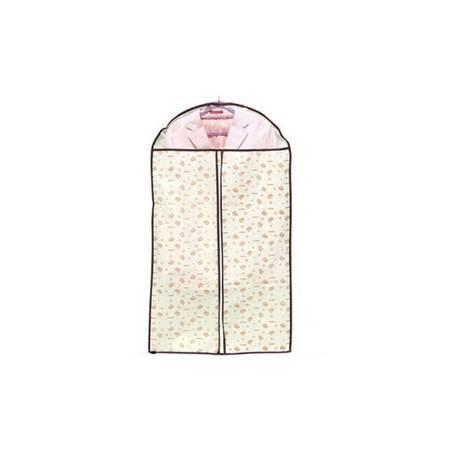 普润 加厚衣服透明西服防尘袋小熊印花60*128 大号