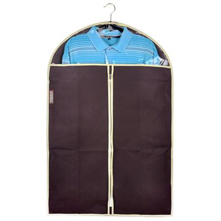 优芬 五只装 加厚西服罩60*90cm大衣防尘罩衣物收纳防尘袋衣罩印花防尘套 无纺布