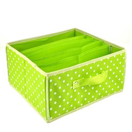 优芬 收纳盒 无盖可拆五格多用收纳箱