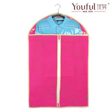 优芬玫红色加厚西服罩60*90cm大衣防尘罩衣物收纳防尘袋衣罩