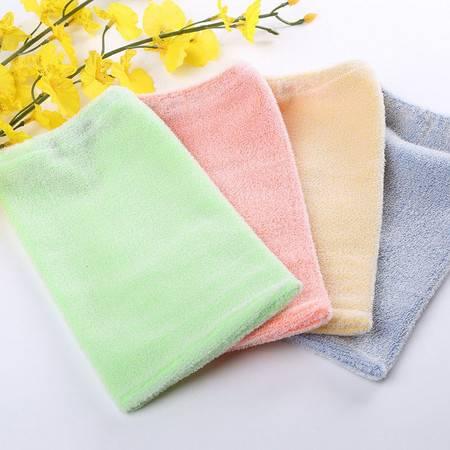 耀点100 天然环保成人弹力手套型免搓澡巾 加强款--颜色随机