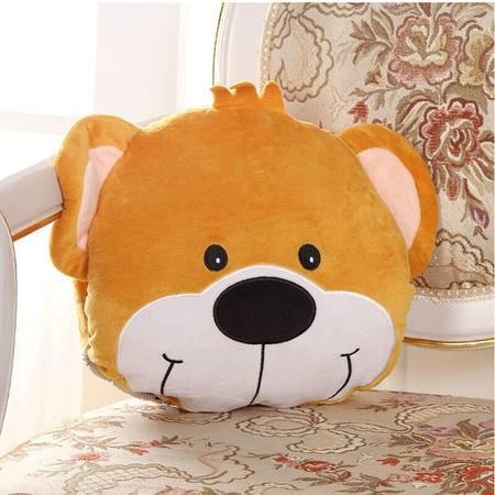 伊暖儿 至尊型USB动漫暖手捂抱枕(双发热芯)帅气小熊