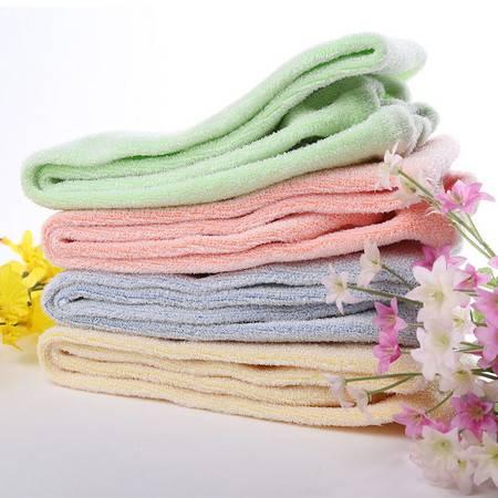 天然植物纤维弹力拉背式免搓洗澡巾 加强款--橘色