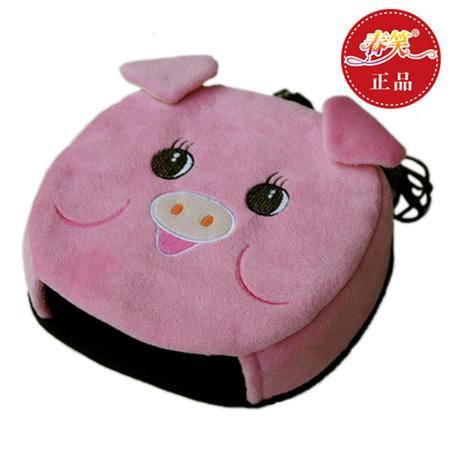 春笑 USB暖手鼠标垫/保暖发热鼠标垫 加热 USB暖手宝 带护腕(粉猪)