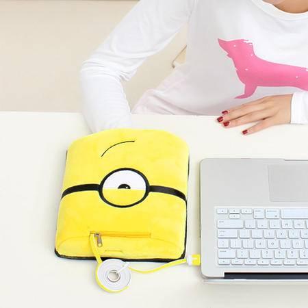 伊暖儿 高档USB保暖发热暖手鼠标垫-小黄人(单眼标准款)