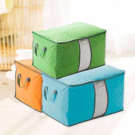 普润 竹炭压花棉被防尘收纳袋--绿色