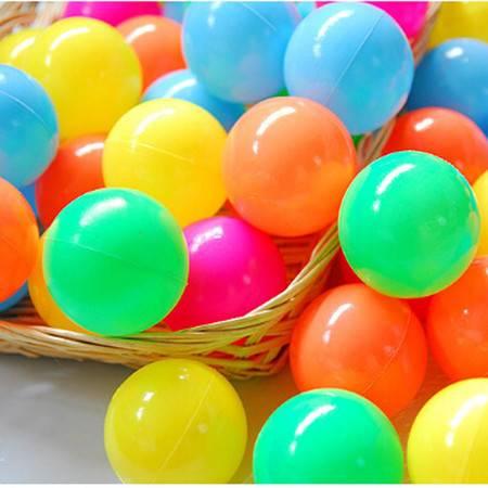 普润 环保海洋球 彩球 婴幼儿童玩具球游泳玩具 10只