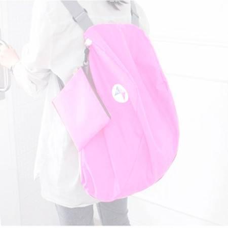 普润 多功能变换折叠收纳包/双肩包(粉色)