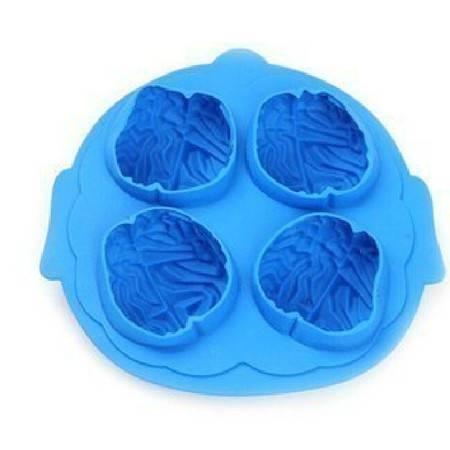 红兔子 创意大脑硅胶冰格 制冰格 颜色随机MK6303