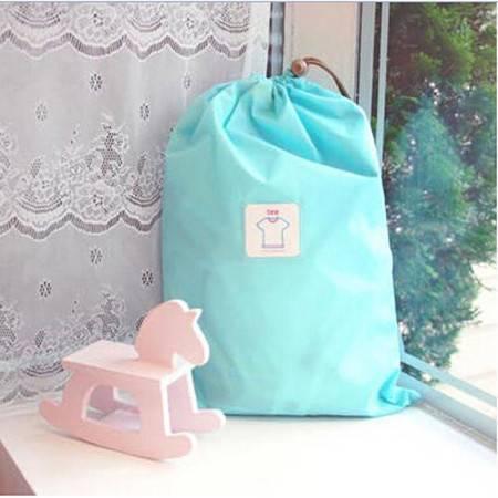 纳彩旅行收纳袋/幸运袋(L号)--蓝色XJ6302