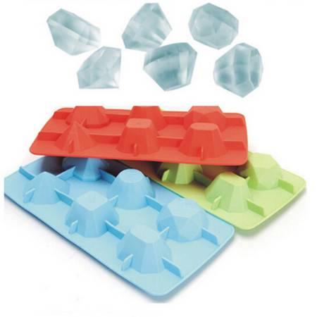 耀点100 钻石 钻戒模具 硅胶模具 滴胶 胶水模型 软 冰格模具MR7202
