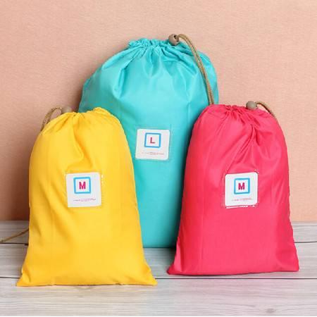 纳彩旅行收纳袋/幸运袋(M号)--粉色