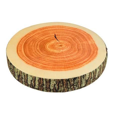 普润 创意高仿真靠垫/抱枕--大号圆形木块
