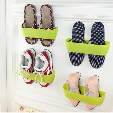 创意立体壁挂式鞋架 颜色随机(赠强力双面胶)XF4102
