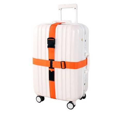普润 出国行李箱旅行箱拉杆箱绑带十字tsa密码锁打包带捆箱带行李带 绑箱带