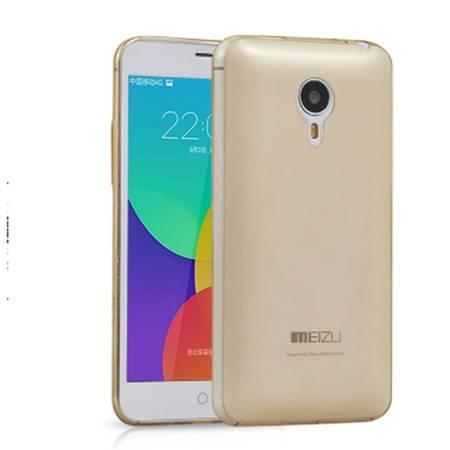 魅族MX4 手机壳 MEIZUMX4保护套 魅族mx4手机壳 手机套(MX4透金壳)XG4202