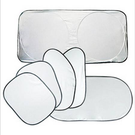 汽车遮阳挡套装 涂银6件套 夏季防晒含袋 车用遮阳光板FL007