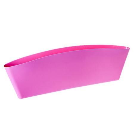 可压缩式汽车座椅夹缝收纳盒 置物盒 粉色XF6303