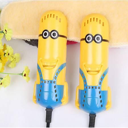 普润 烘鞋器可爱卡通小黄人干鞋器烘鞋器