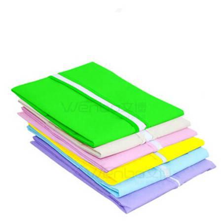 文博2358系列 衣服彩色透明防尘罩 环保西服防尘罩 2只装 60*100CM