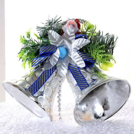 10只装 圣诞装饰品 圣诞双铃铛挂饰 儿童礼物 两只铃铛