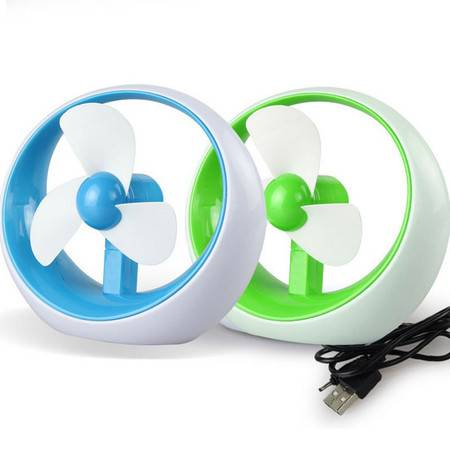 USB电池两用空调迷你风扇
