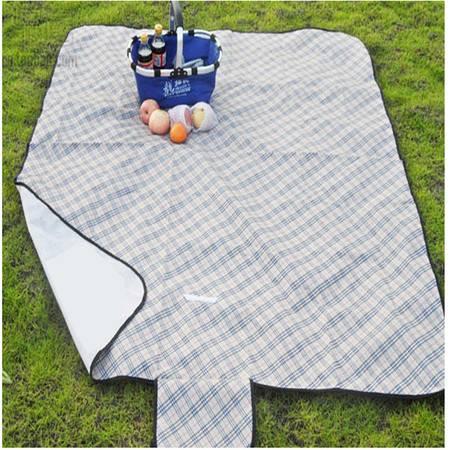 户外草坪野炊坐垫野餐垫牛津布大加厚防水野外觉地毯防潮垫 大号彩色花朵