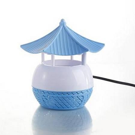 电击灭蚊灯家用捕蚊器无辐射孕妇婴儿驱蚊器 光触媒 蓝色