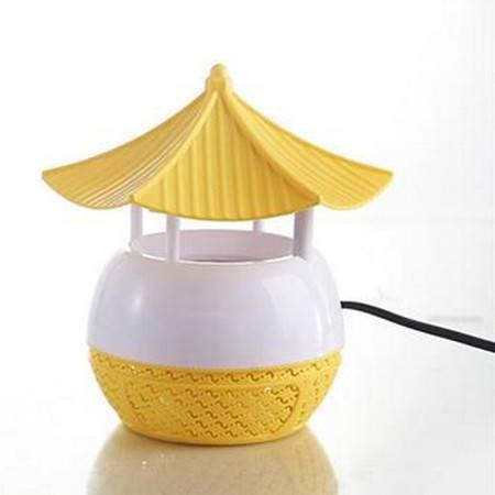 电击灭蚊灯家用捕蚊器无辐射孕妇婴儿驱蚊器 光触媒 黄色