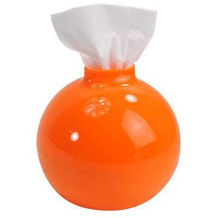 韩版创意纸巾抽 纸巾筒--橙色