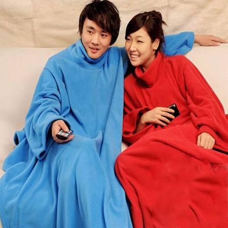 沃泰 第五代加厚 多用袖毯 颜色随机