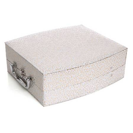 开馨宝欧式双层大容量首饰盒