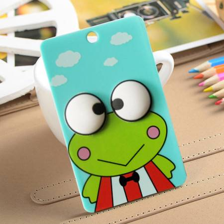 卡通便携式公交卡夹/卡套--青蛙王子