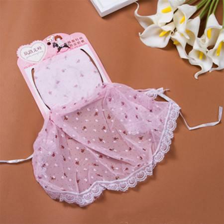韩版碎花护颈防紫外线口罩 时尚蕾丝透气防晒口罩 桔色口罩 桔色