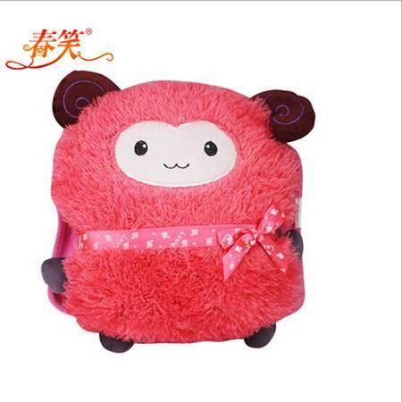 春笑 卡通毛绒双插手电热水袋粉羊CX-KT18