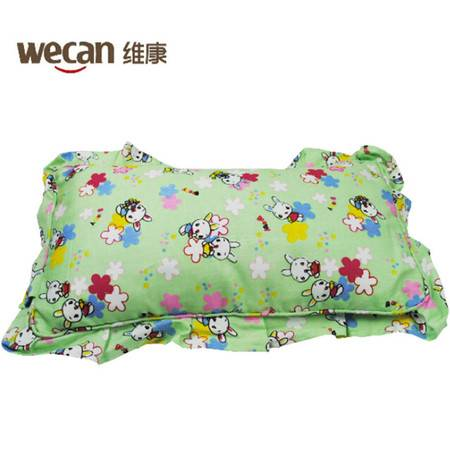 维康 竹炭棉布婴儿枕宝宝新生儿枕头适合0-1岁婴儿 多功能枕