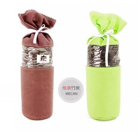 黑水晶系列竹炭瓶 多用系列单个装 颜色随机发送