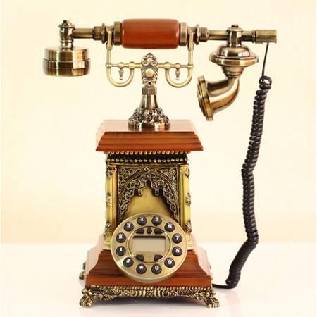 普润 异国风情欧式电话机韩式古董仿古电话