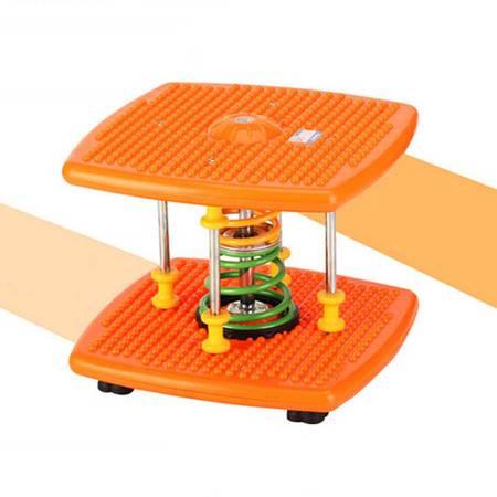 红兔子 双弹簧减肥塑身扭腰机跳舞机家用运动器材踏步机健身扭扭乐扭腰盘 橙色普通型