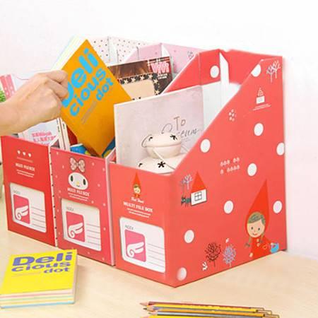 红兔子 (小红帽)畸良卡通桌面收纳盒 杂物收纳箱 大号文件收纳盒