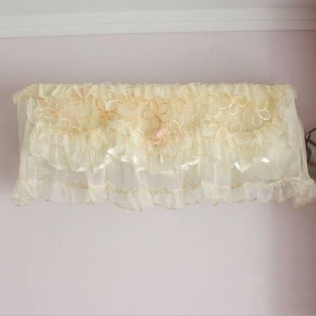 普润 蒙娜丽莎 蕾丝印花挂式空调罩精美挂机罩