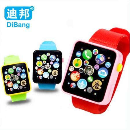 普润 3C儿童益智早教玩具唐诗音乐触摸手表