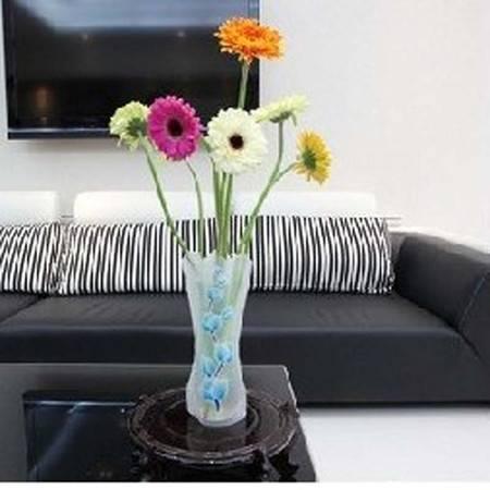 普润 DIY彩色塑料花瓶 PVC花瓶
