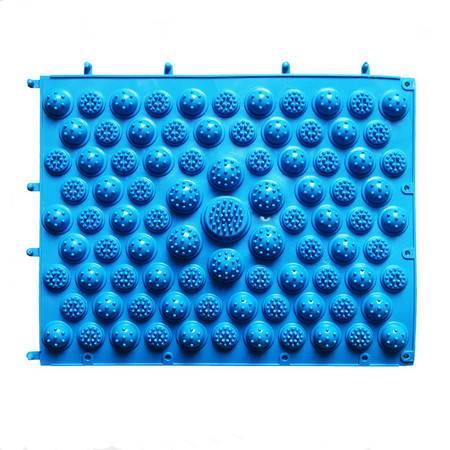 普润 嵌套式可拼接穴位按摩指压板 29*40cm大号按摩垫--蓝色