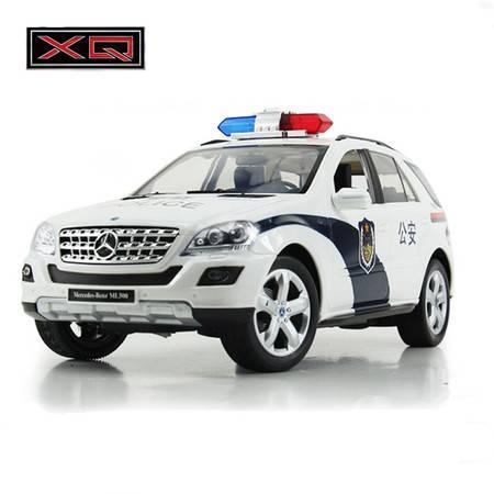 普润 遥控车玩具1:16 宝马X6 奔驰 丰田普拉多 充电 奔驰警车