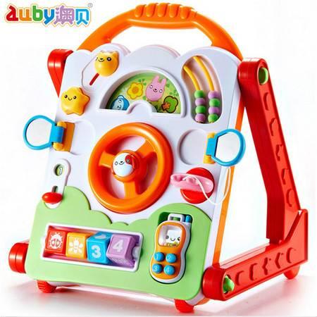 普润 婴儿玩具奥贝多功能学习桌463405手推学步车宝宝学习早教画板写字板游戏桌益智儿童玩具