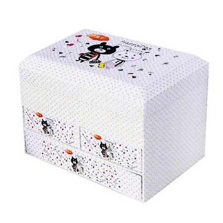 开馨宝 全能型三抽屉储物箱/药箱/化妆箱/首饰盒(KXB-8811)