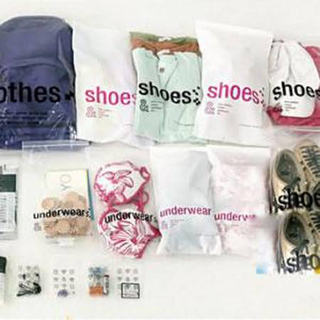 普润 旅行收纳袋套装多功能旅行收纳袋 (23枚入)
