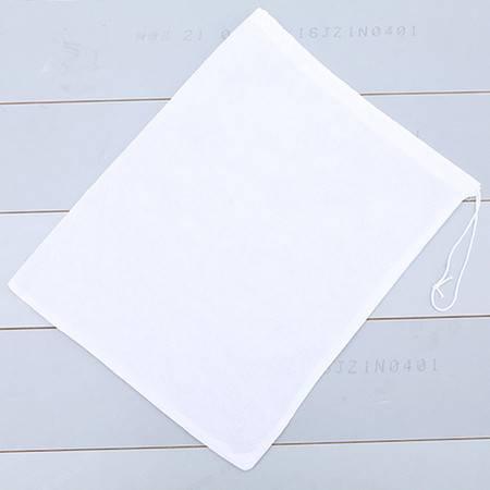 普润 便携式防潮透气无纺布鞋袋--白色